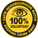 Capri neighbourhood watch logo
