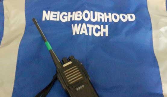 Neighbourhood Watch equipment needed
