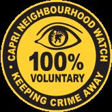 Capri neighbourhood watch logo